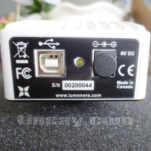 Mặt sau Camera Lumenera Infinity 1-3C
