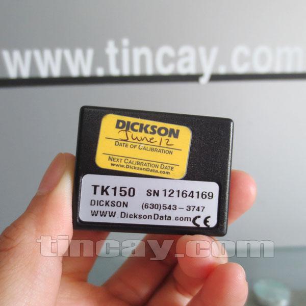 Thiết bị ghi nhiệt độ và độ ẩm Dickson TK150