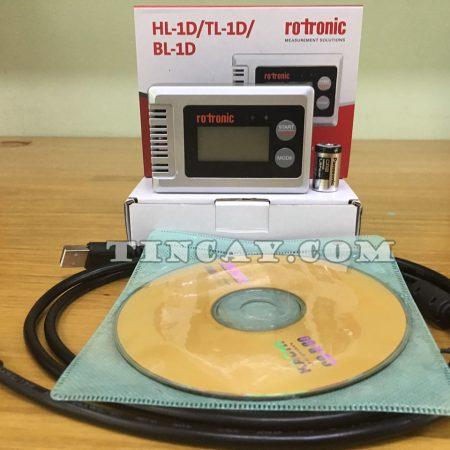 Datalogger nhiệt ẩm độ Rotronic HL-1D
