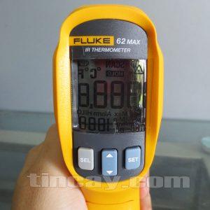 Màn hình Máy đo nhiệt độ Fluke 62 Max