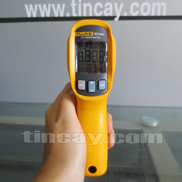 Mặt trước Máy đo nhiệt độ Fluke 62 Max