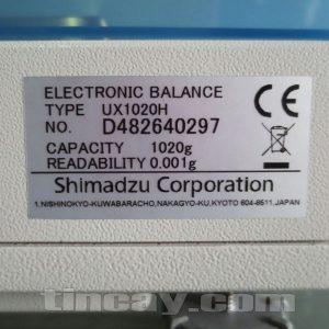 Thông tin Cân điện tử Shimadzu UX–1020H