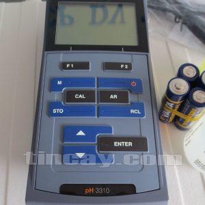 phím điều khiển Máy đo pH WTW 3310