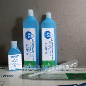 dung dịch hiệu chuẩn bút đo độ mặn Horiba Salt11