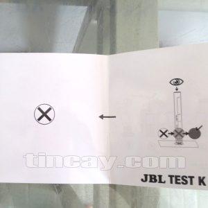 HDSD Test JBL kiểm tra hàm lượng kali trong nước
