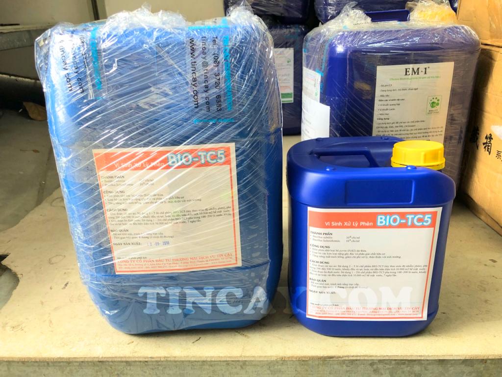 Chế phẩm vi sinh BIO-TCXH (BIO-TC5)
