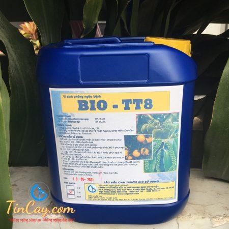Phân vi sinh ngăn ngừa nấm bệnh trên cây trồng BIO-TT8