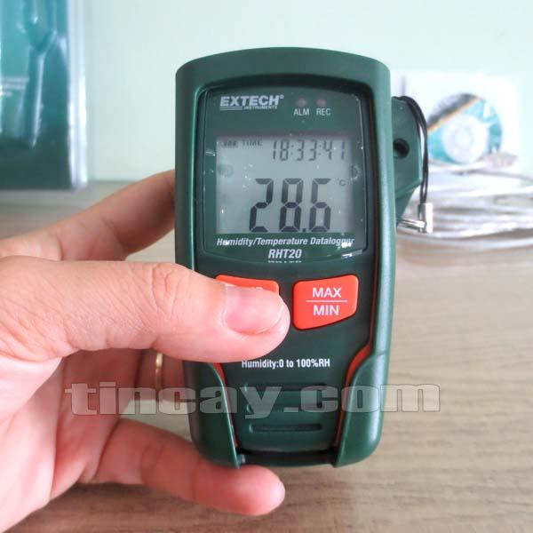 Nhiệt ẩm kế Extech RHT20