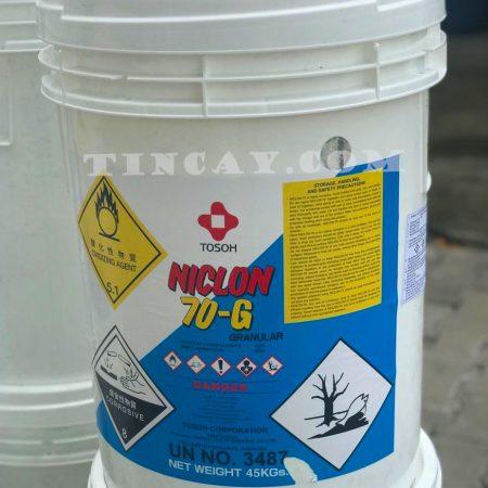 Hóa chất Clorine Tosoh (Niclon 70G)