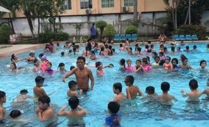 chất lượng nước hồ bơi