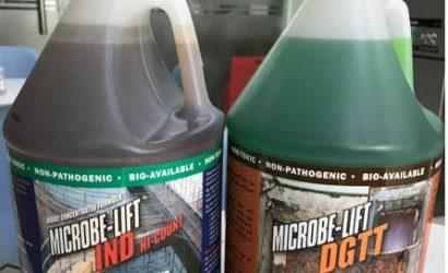 vi sinh xử lý dầu mỡ