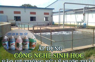 áp dụng công nghệ sinh học xử lý nước thải