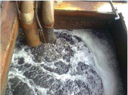 chất độc môi trường - nước thải nhà máy