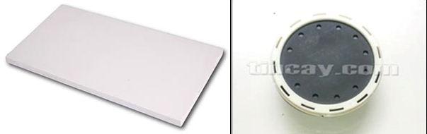 Nhựa ABS được chọn làm màng đĩa thổi khí thô