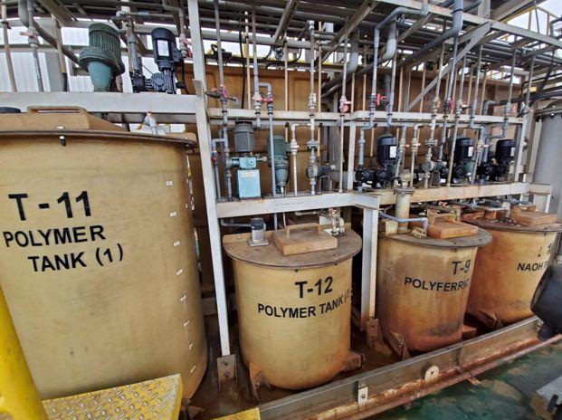 hệ thống bồn chứa hóa chất xử lý nước thải