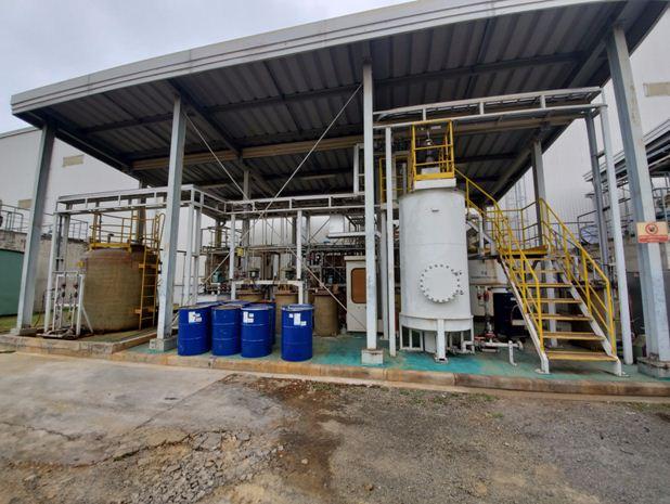 nhà máy xử lý nước thải không dùng vi sinh