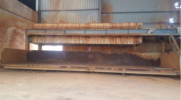 nhà máy ép bùn
