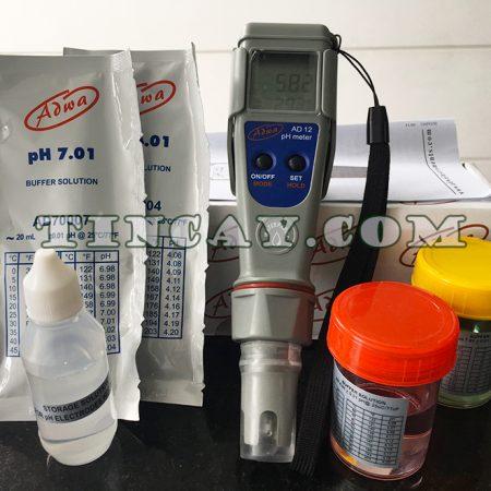 Máy đo pH và nhiệt độ trong nước dạng bút AD12